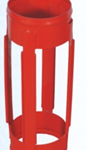 Slip on welded positive bow centralizer